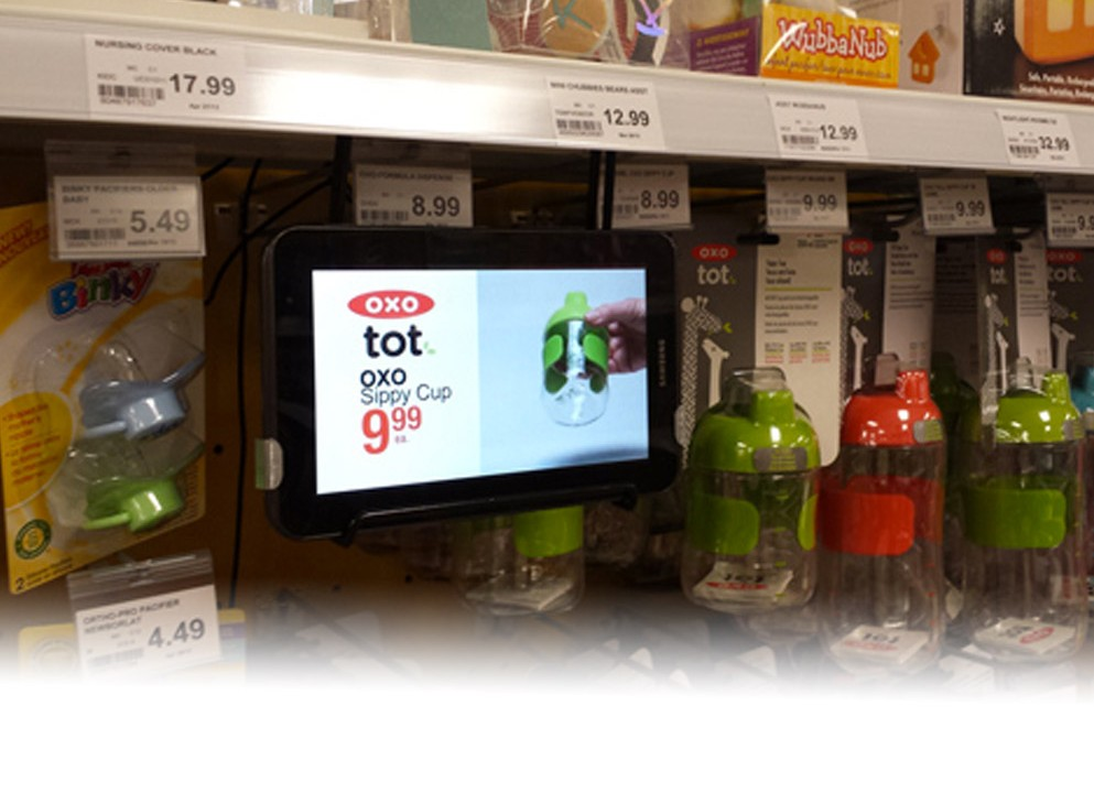 New For 2015!Inform, educate and enhance your product on the spot with our new digital shelf talkers.